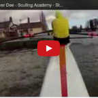 Click to view video of Steve Walker sculling on the River Dee at Chester at high water